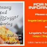 2ND PENANG FLOGGER GATHERING