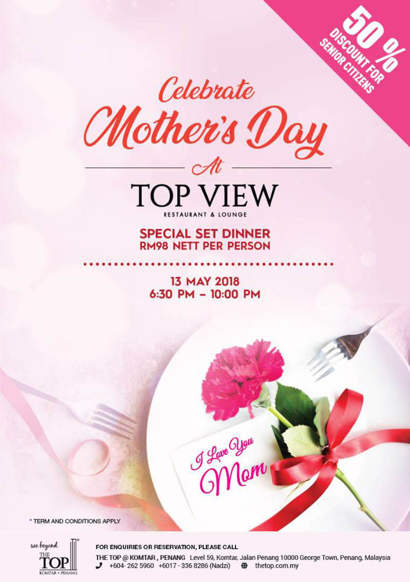 MOTHERS DAY 2018 AT TOP VIEW RESTAURANT LOUNGE THE LEVEL 59