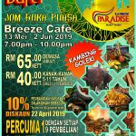 PELANGI RAMADAN BUFFET DINNER AT BREEZE CAFÉ @ RAINBOW PARADISE BEACH RESORT PENANG
