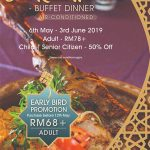CITA RASA WARISAN BUFFET DINNER PROMOTION 2019 AT ICONIC HOTEL PENANG