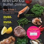 MERDEKA DAY 2019 BBQ BUFFET DINNER & MALAYSIA DAY 2019 BUFFET LUNCH AT STRAITS CAFÉ & LOUNGE @ IXORA HOTEL PERAI PENANG