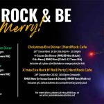 CHRISTMAS 2019 PROMOTIONS @ HARD ROCK HOTEL PENANG