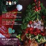 WONDERFUL CHRISTMAS PROMOTIONS 2019 AT THE STRAITS CAFÉ & LOUNGE @ IXORA HOTEL PERAI PENANG