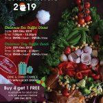 WONDERFUL CHRISTMAS PROMOTIONS 2019 AT THE STRAITS CAFÉ & LOUNGE @ IXORA HOTEL PERAI PENANG