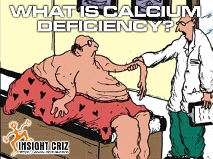 CALCIUMDEFICIENCY