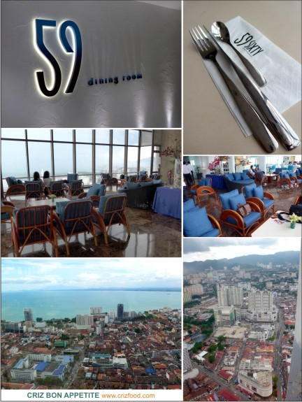ENGLISH HI TEA WITH 360 PANORAMIC VIEW OF PENANG AT 59SIXTY